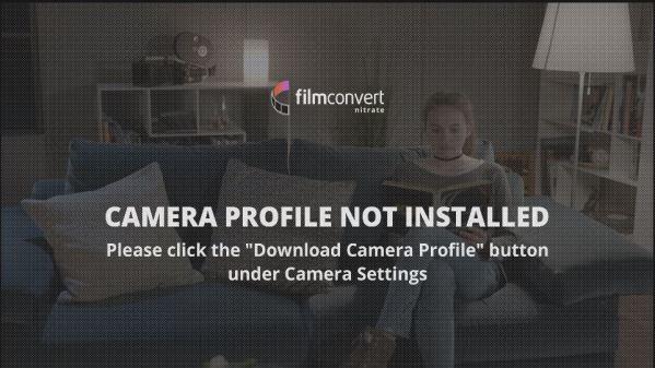 Filmconvert Nitrate Camera Profile