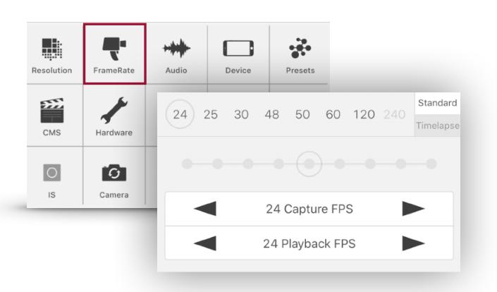 Sony Xperia 1 II's Cinema Pro: non-integer framerates? 3