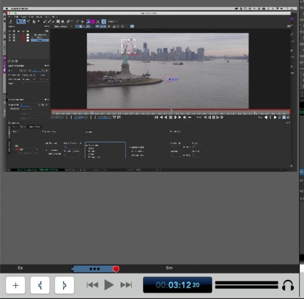ScreenFlow 9 Clip Editor