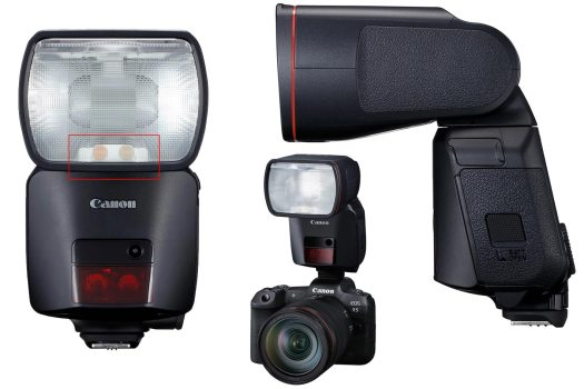 "Canon Speedlite EL-1: the first ""red ring"" flash"