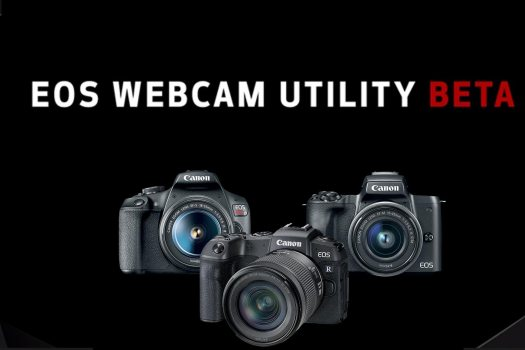 The EOS Webcam Utility Beta software for Mac has arrived!