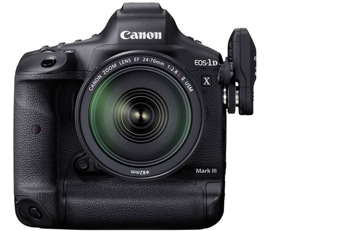 EOS 1-D X Mark III: new SLR mirror system and 5.5K 12-bit RAW video internal recording