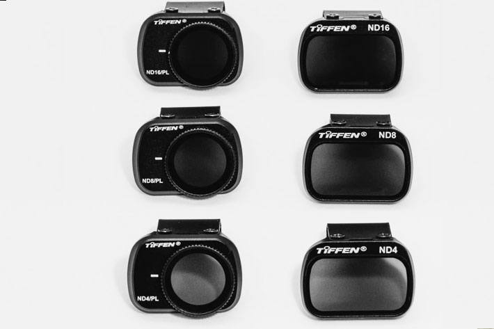 New filter kits from Tiffen for the DJI Mavic Mini drone