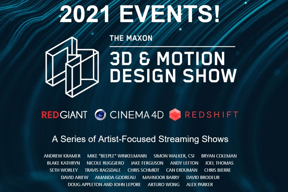 Maxon: two days of 3D & Motion Design Show
