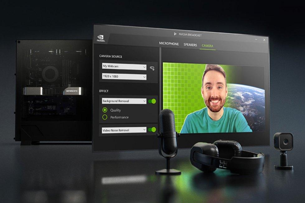 NVIDIA Broadcast 1.2: turn any room into a home studio