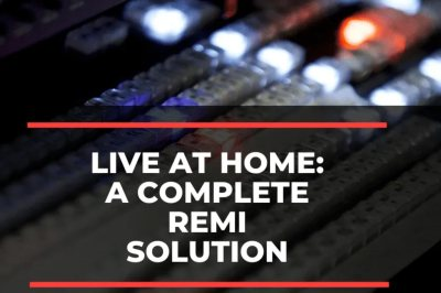 BMG's REMI: a Live At Home solution for pandemic times