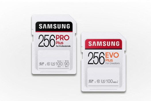 Samsung PRO Plus and EVO Plus SD cards for creators 2