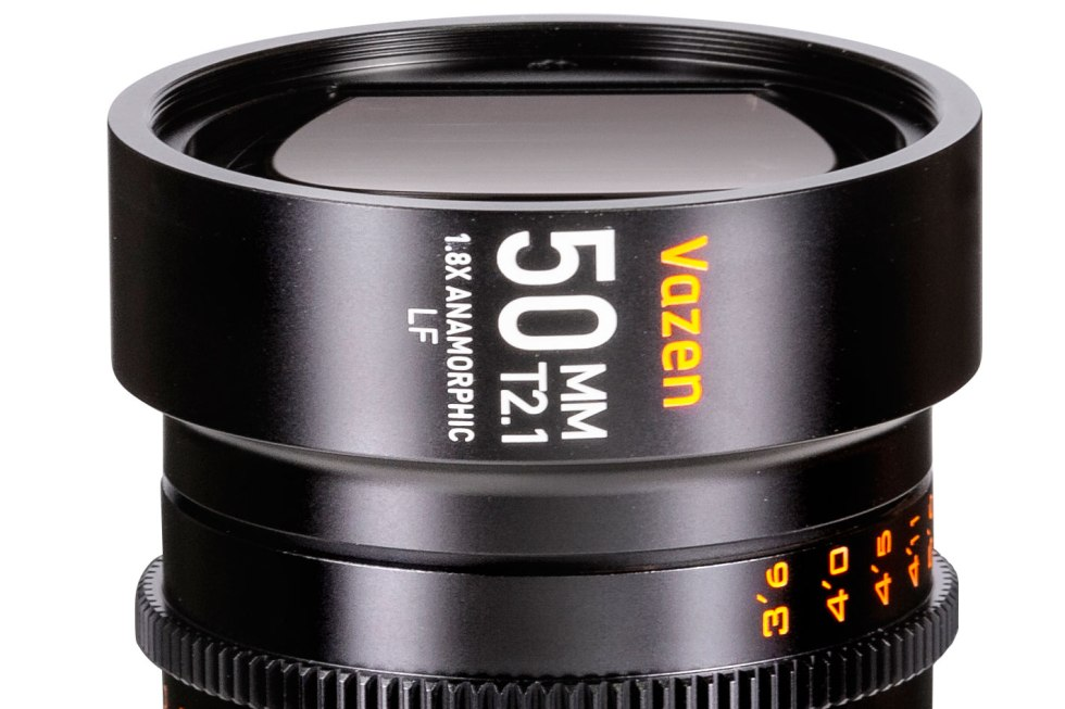 Vazen has a new 50mm T2.1 1.8X anamorphic lens for full frame