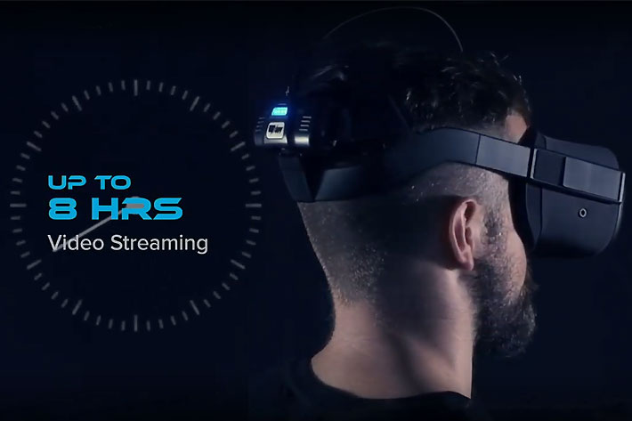 VRNRGY Power Pack: 8 hours of video streaming for the Oculus Quest