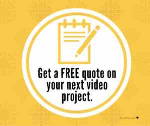 Free commercial video production pricing quote with provid films