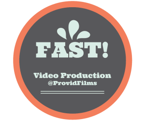 fast video production process graphic provid films MN