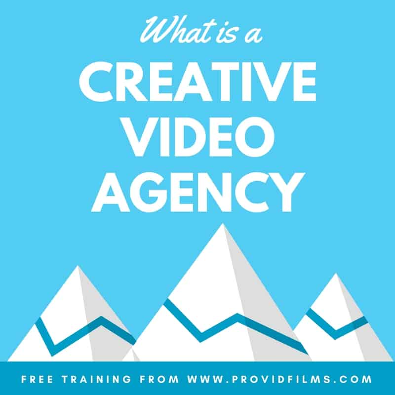 what is a creative video agency