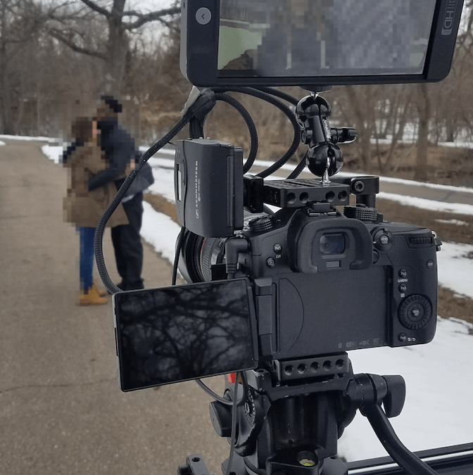 Sony FS7 vs Panasonic GH5 2018