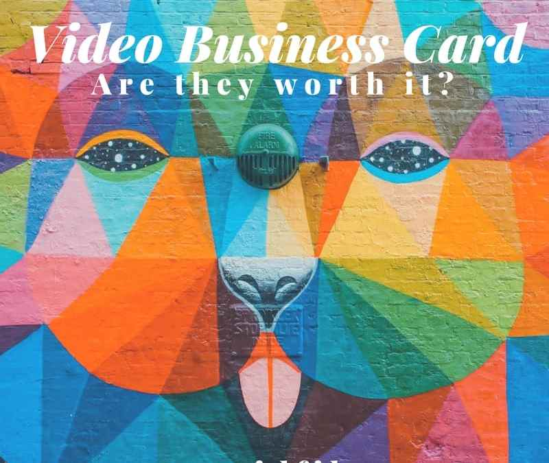 video business card - are they worth it - Minneapolis Minnesota