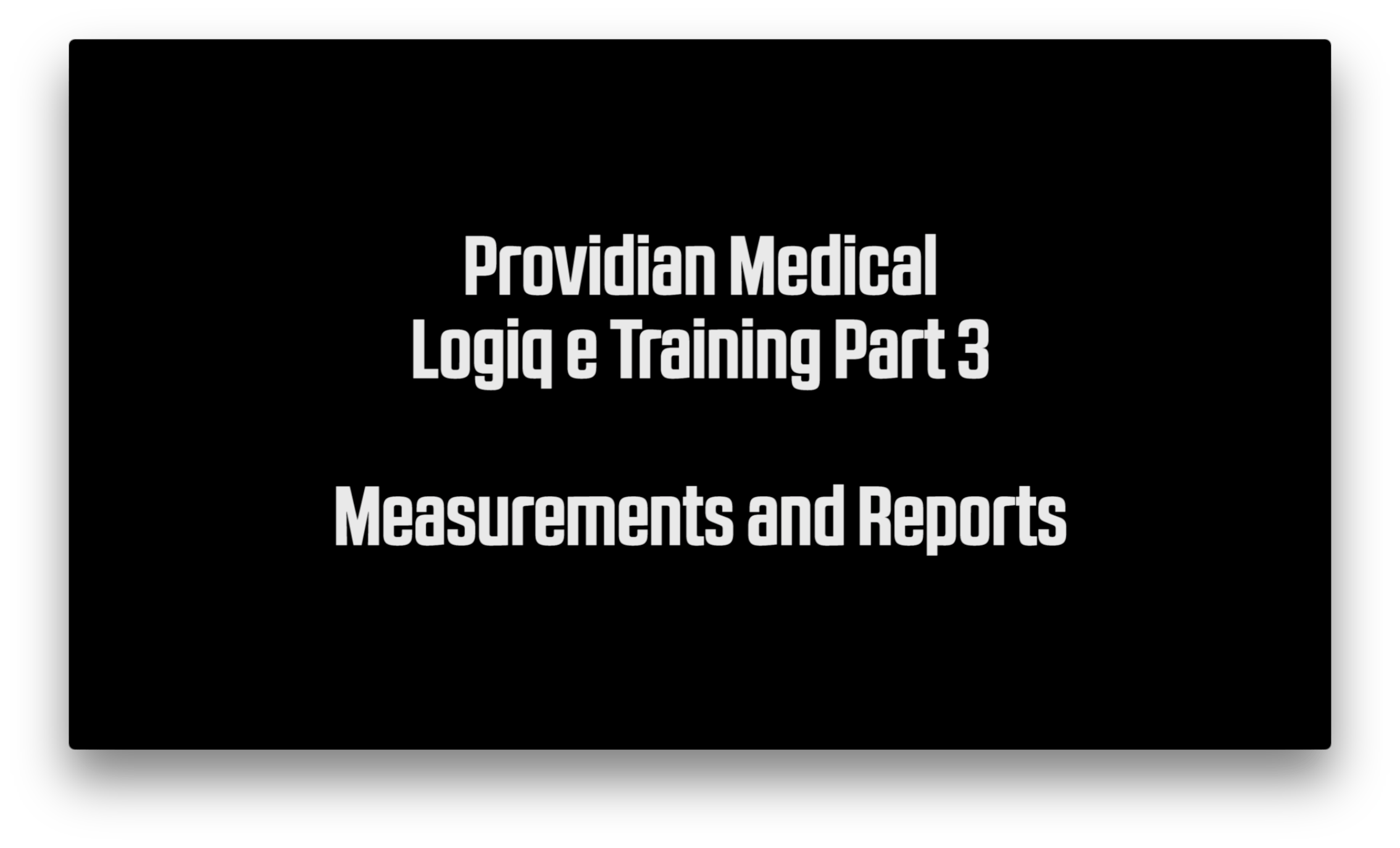 Ge Logiq E Measurements And Calcs Ultrasound Training