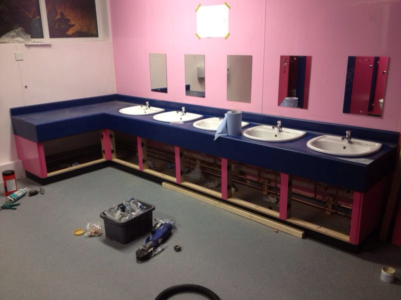 Hygienic Wall Cladding Province Building Services Ltd