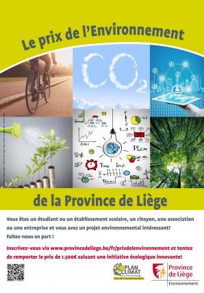 Affiche du Prix de l'Environnement