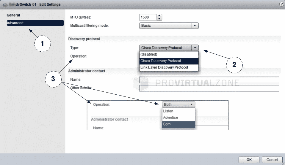 Enable Link Layer Discovery Protocol (LLDP) in vSwitch