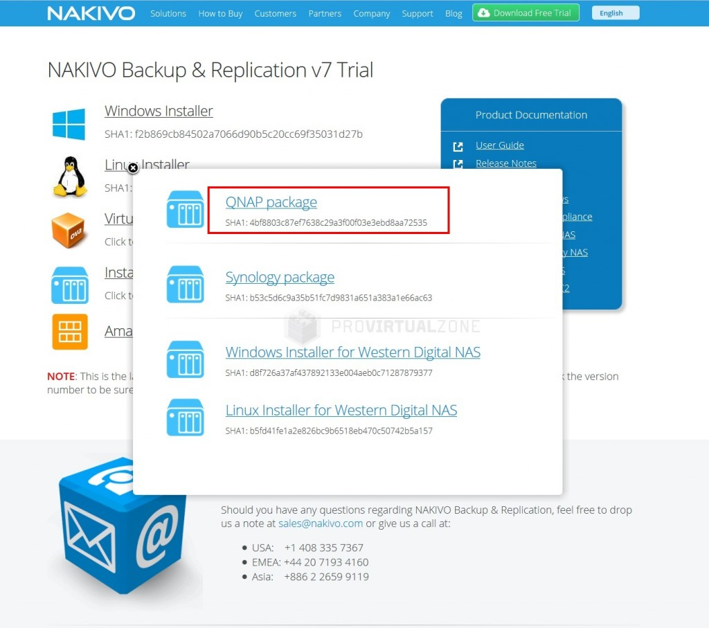 How to Install NAKIVO Backup & Replication in a QNAP NAS