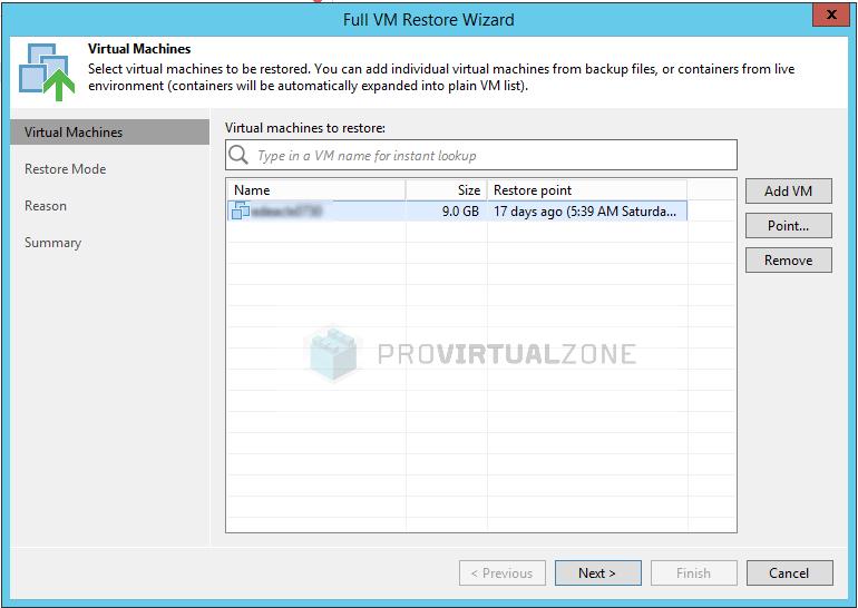 Veeam: How to fix Broken backup chain > ProVirtualzone - Virtual