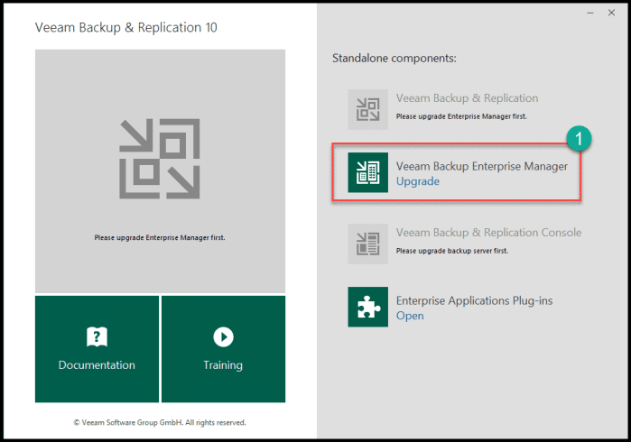 How to upgrade to the new Veeam v10