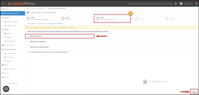 How Backup & Restore your Office 365 with Altaro