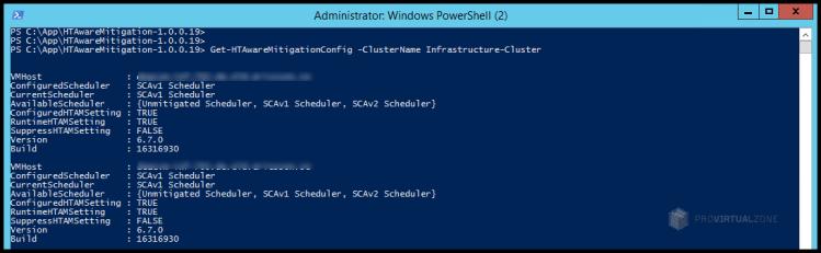 Change ESXi host to use ESXi Side-Channel-Aware Scheduler v2 (SCAv2)