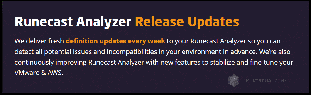 Runecast Analyzer 4.4.3 and Pure Storage a quick review