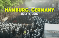 """Short video from """"Welcome to Hell"""" March against G20 meeting – Hamburg"""