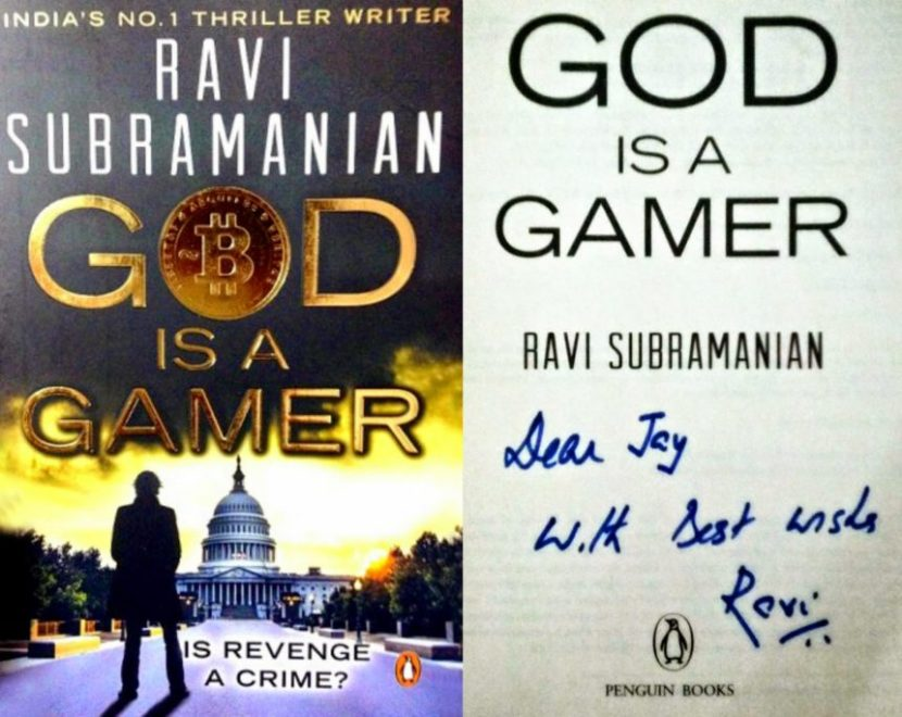 god is a gamer, ravi subramanian, book, review, bitcoin