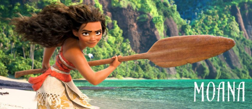 This is Moana presented by Walt Disney