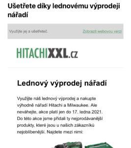 e-mail marketing pro e-shop
