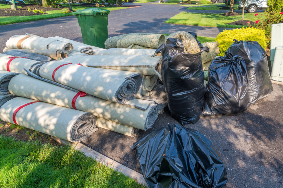 Carpet Removal: Home Renovation & Junk Removal