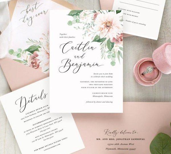 Stunning Wedding Invitation Designs To