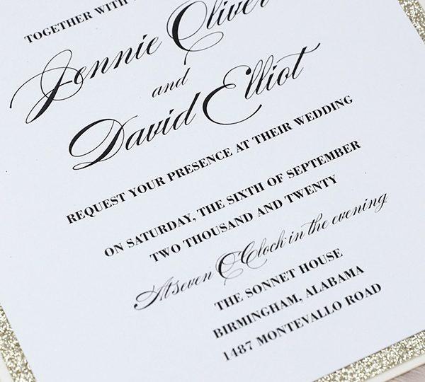 Rules For Wedding Invitation Etiquette