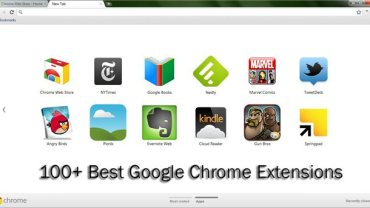 Popular Chrome apps