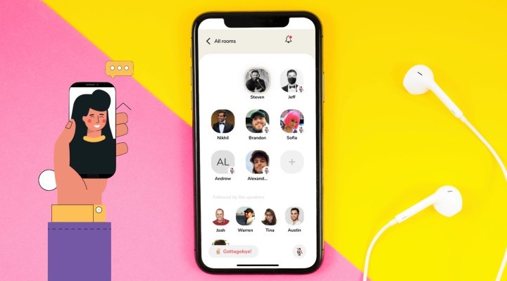 Clubhouse voice chat leads a wave of spontaneous social apps