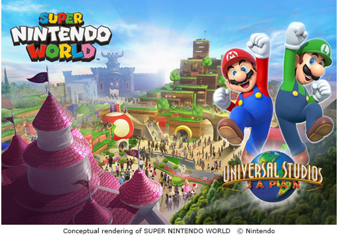 Super Nintendo World aerial shot gives us our best look yet at the theme park