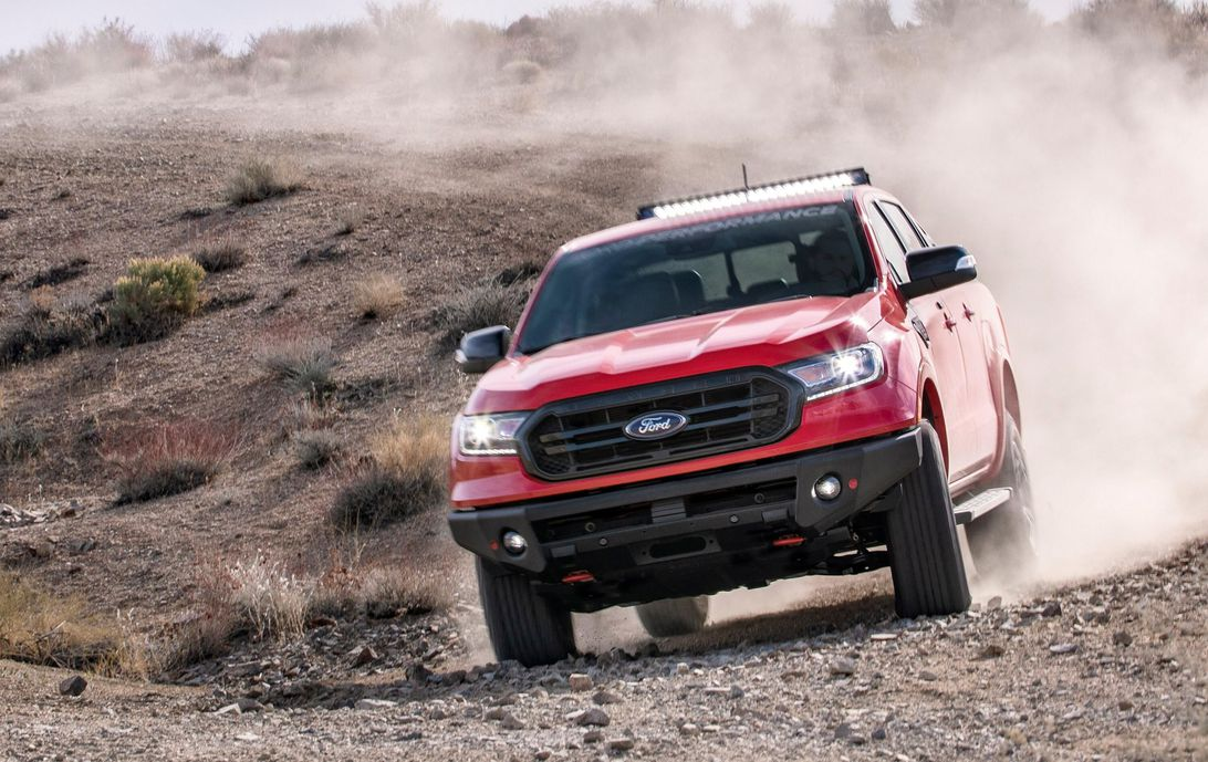 Ford Ranger is getting 3 off-road performance accessory packages