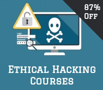 ethical hacking course square ad