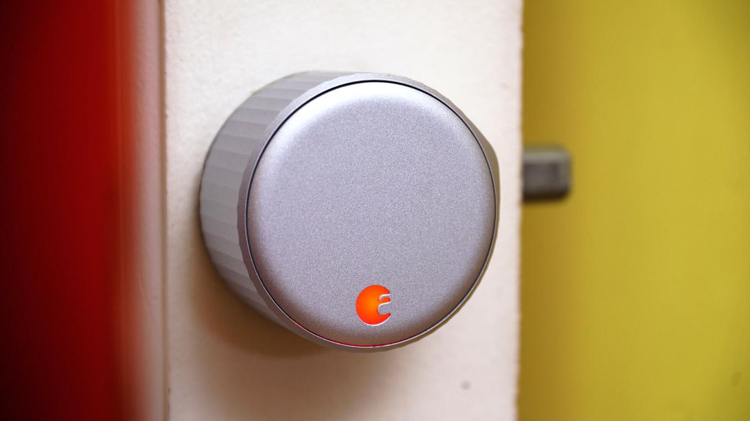 Put the new August Smart Lock with Wi-Fi on your front door for $224