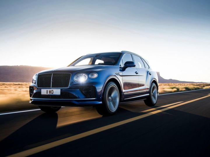 2021 Bentley Bentayga Speed is a 626-hp, 190-mph bruiser in a Saville Row suit
