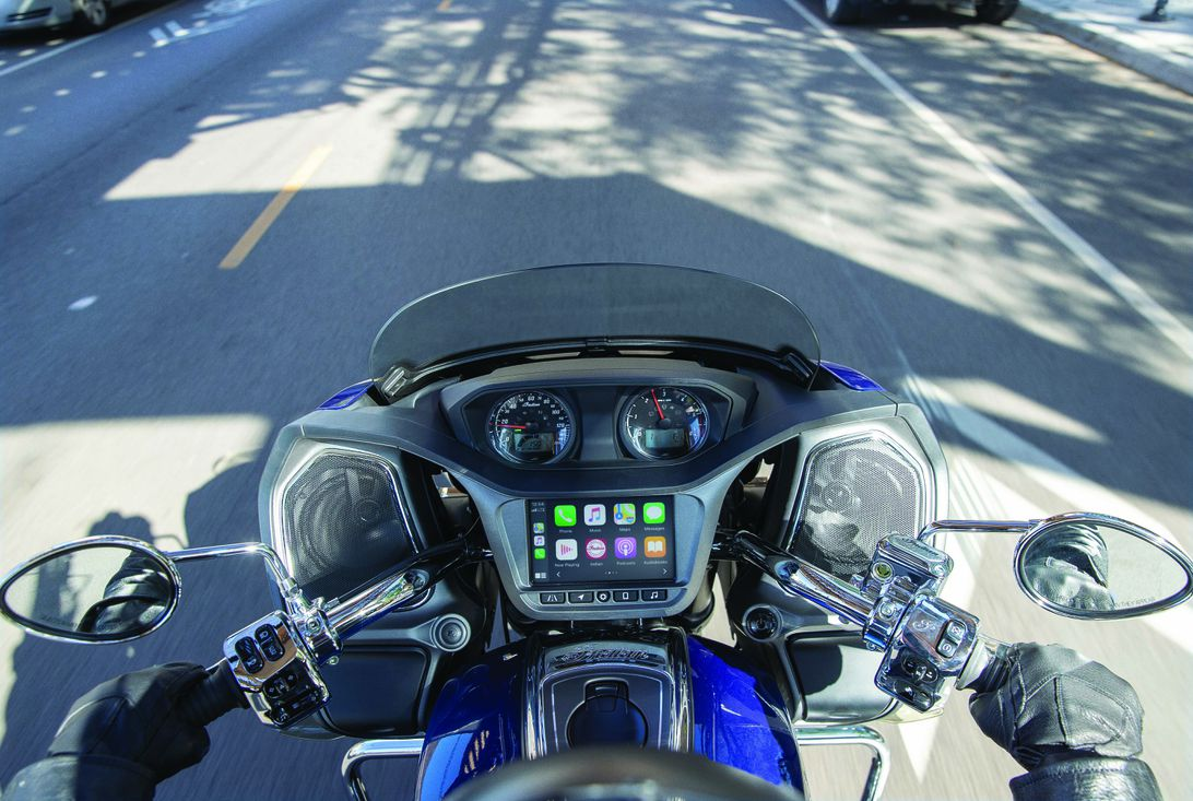 Indian's big bikes get Apple CarPlay integration for 2020