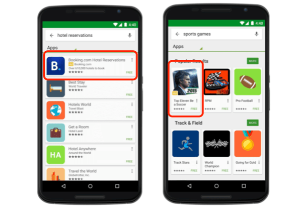 types of google ads app ads campaigns