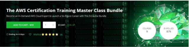 AWS Certification Training Master Class Bundle