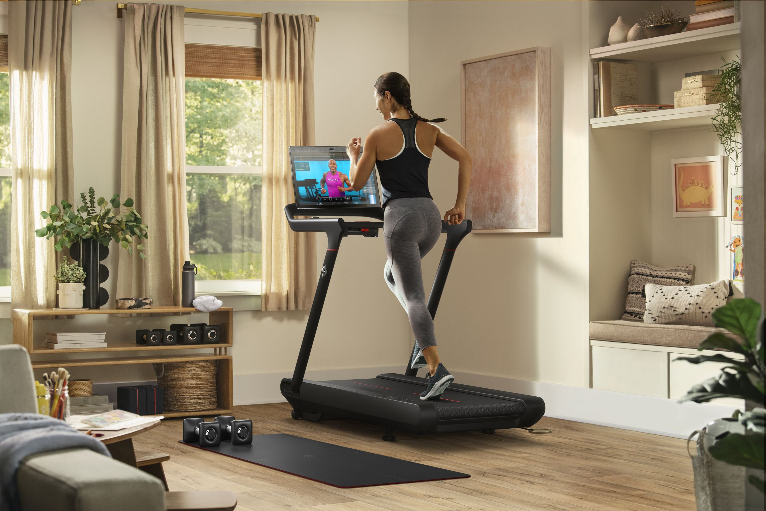 Peloton launches new Bike+ and Tread smart home gym equipment, both at $2,495 – TechCrunch