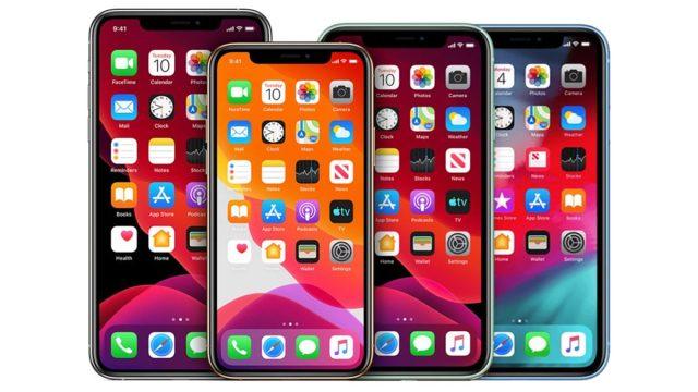 Rumored lineup of 2020 iPhones