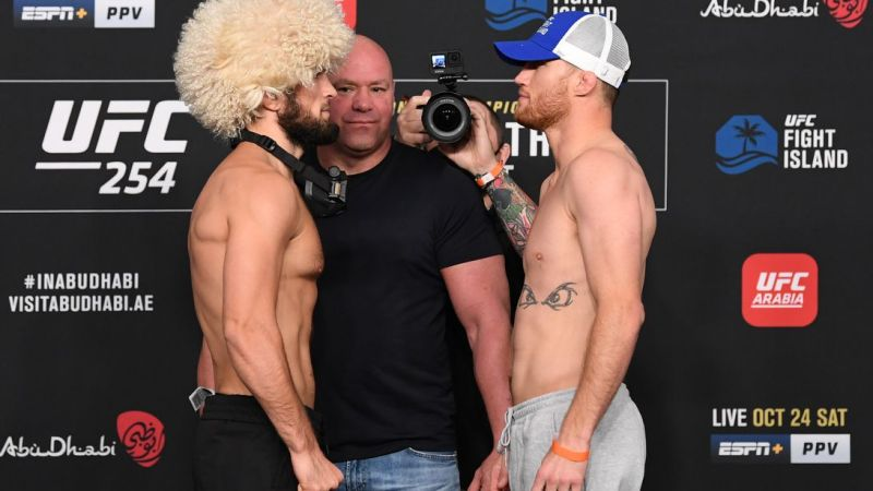 UFC 254: Khabib Nurmagomedov vs. Justin Gaethje — How to watch, start time, fight card