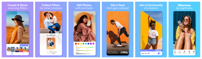 Facetune maker's new app Filtertune let anyone create and share personalized photo filters – ProWellTech