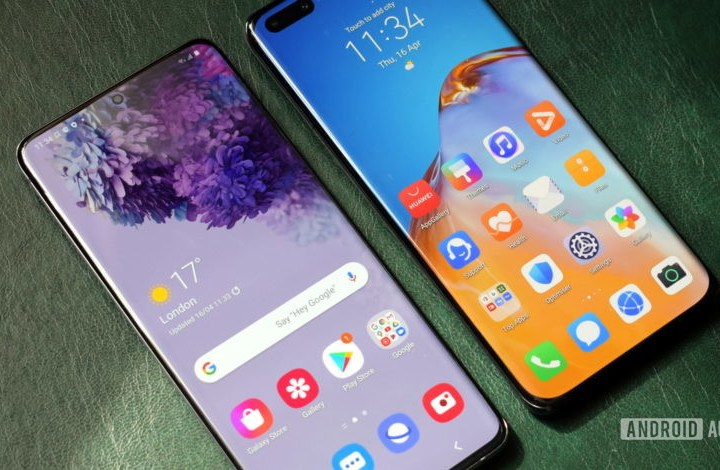 Huawei can buy displays made by Samsung now
